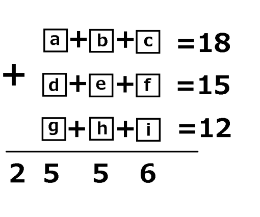 1-9 addition