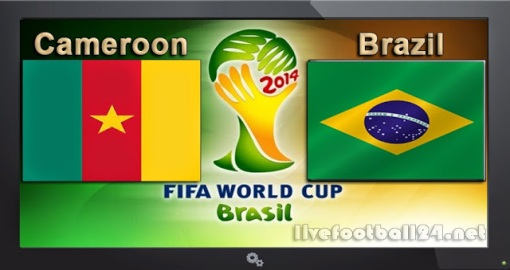 GroupA Cameroon-vs-Brazil
