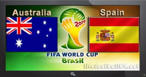 GroupB Australia-vs-Spain