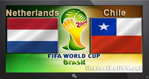 GroupB Netherlands-vs-Chile