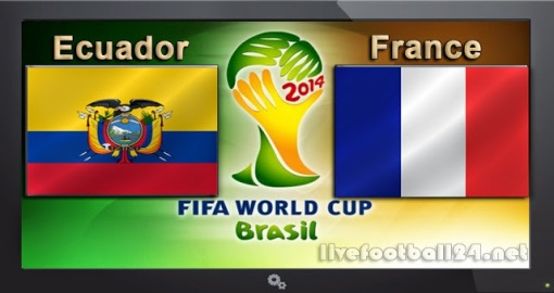 GroupE Ecuador-vs-France