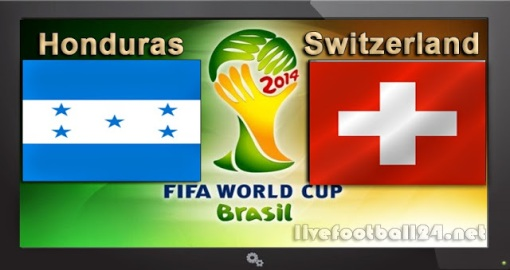 GroupE Honduras-vs-Switzerland