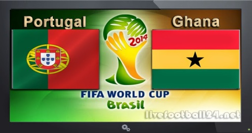 GroupG Portugal-vs-Ghana