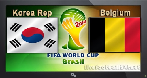 GroupH Korea-Republic-vs-Belgium